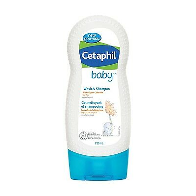 Cetaphil Baby Wash and Shampoo 230 mL - Brand New +  Free Shipping