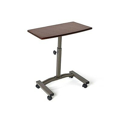 Seville Classics Mobile Laptop Desk Cart Rich Ch... - Brand New +  Free Shipping