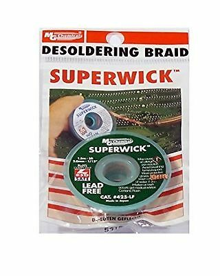 MG Chemicals Desoldering Braid - No Clean - Fine... - Brand New +  Free Shipping