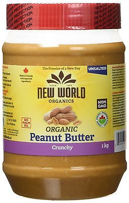 New World Foods Peanut Butter Crunchy Unsalted O... - Brand New +  Free Shipping