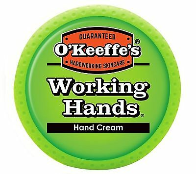 O'Keeffe's Working Hands Cream 3.4 Oz. 3.4-ounce - Brand New +  Free Shipping