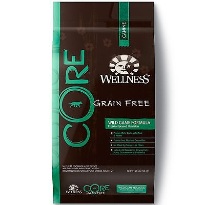 Wellness CORE Natural Grain Free Dry Dog Food Wi... - Brand New +  Free Shipping
