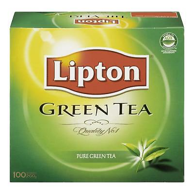 Lipton Pure Green Tea Bags 100 Count - Brand New +  Free Shipping