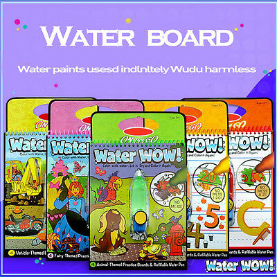 Doug On The Go Water Wow Bundle Animals Alphabet and Children Drawing Board