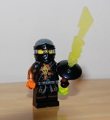 NEW Genuine Lego Ninjago Cole RX minifig minifigure from 70589