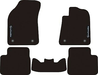 Alfa Romeo Giulietta Hatch Automatic 2010 - 2014 Front And Rear Car Floor Mats