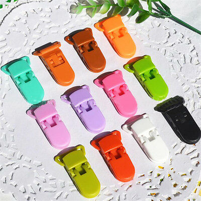 Multipurpose Plastic Pacifier Clips Soother Dummy Bib Suspender Paci Toy Holder