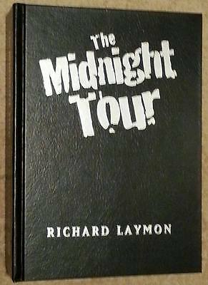 Richard Laymon SIGNED The Midnight Tour USHC Lettered Edition Cemetery Dance