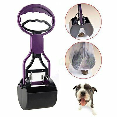Pooper Scooper Poop Scoop Pet Dog Cat Waste Easy Clean Pickup Grabber Remover