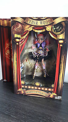 ever after high sdcc san diego comic cedar wood new and sealed