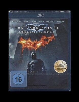BLU-RAY BATMAN - THE DARK KNIGHT - 2 Disc SPECIAL EDITION - CHRISTIAN BALE * NEU