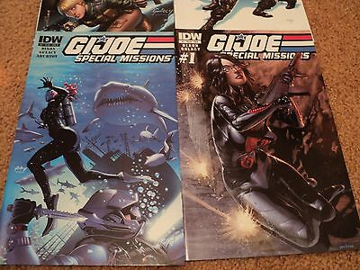 GI Joe special missions comic lot issues 1-4 #1 sub variant bagged and boarded!!