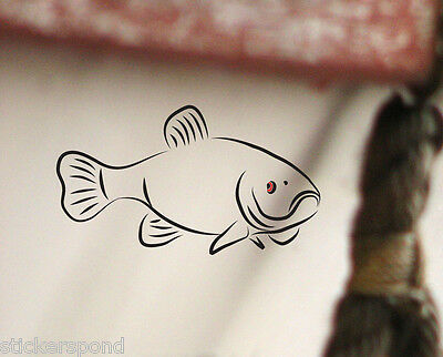 Tench Fish Fishing Decal / Vinyl Sticker for Tackle Box / Car / Window