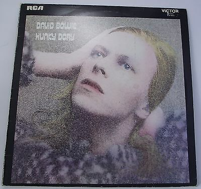 "DAVID BOWIE : HUNKY DORY Vinyl LP Album 33rpm 12"" with Insert Excellent"