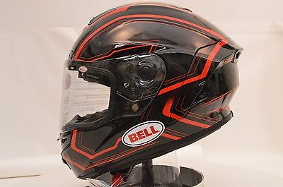 Bell Star Pace Red Full Face Motorcycle Helmet Large Open Box Sale 7069730