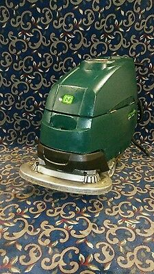 "Tennant Nobles SS5 32"" floor scrubber with NEW batteries and FREE shipping!"