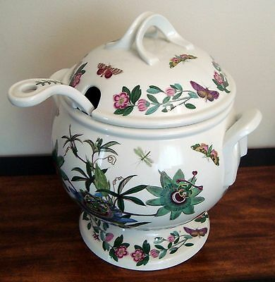 Portmeirion THE BOTANIC GARDEN Covered Soup Tureen with Ladle