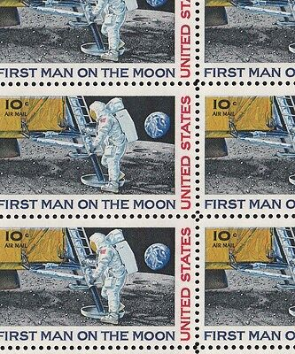 C76   10c  MOON LANDING     NH SHEET OF 32
