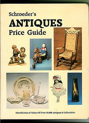 "Schroeder's Antiques Paperback Price Guide First Edition 1983 Large 8 1/2"" X 11"""