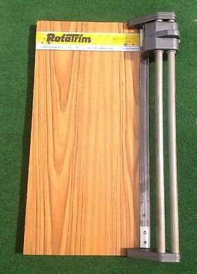 "RotaTrim Paper 17.5 trimmer 17.5"" 42cm Cut Used GWO Very Heavy High  Quality"