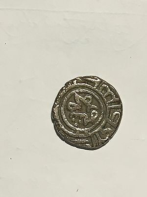 Ancient Moghul Silver Coin, 1296 AD, Mohamed Shah, 2 Ghani