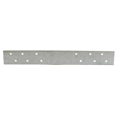 "Pack 50, 3"" x 18"" Galvanized Steel Standard F.H.A. Strap with 6 Offset Holes, 16"