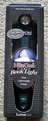 NEW Nite Owl Book Light ~ Accessory for Late Night Reading