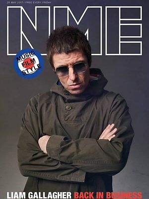The NEW MUSICAL EXPRESS NME 26 MAY 2017 LIAM GALLAGHER Front Cover n.m.e. Oasis