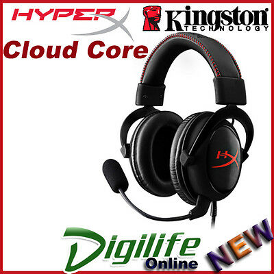 Kingston HyperX Cloud Core Gaming Headset KHX-HSCC-BK-FR