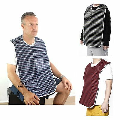 Adult Mealtime Bib Disability Aid Dining Clothes Clothing Protector Cook Apron