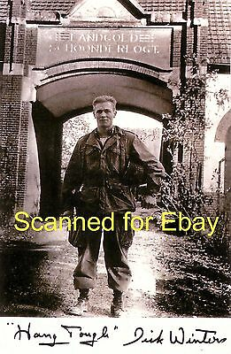 Major Dick Winters Band Of Brothers Easy Company Autographed 11x14 Collectible 2