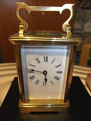 Chiming Antique Brass Carriage Clock