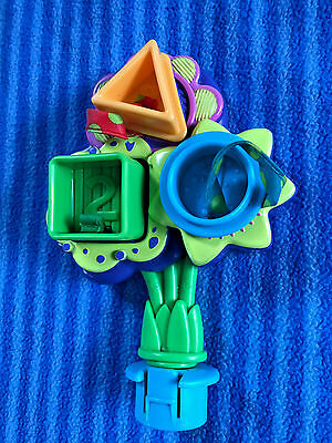 Evenflo Smart Steps ABC/123 Exersaucer Shape Sorter Toy Replacement Part