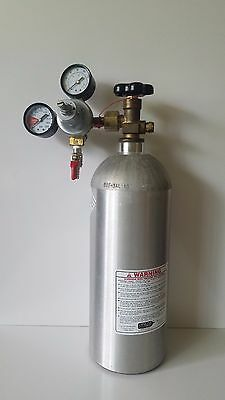 6LB Aluminum Catalina Cylinders CO2 Gas Cylinder With Regulator & Valve