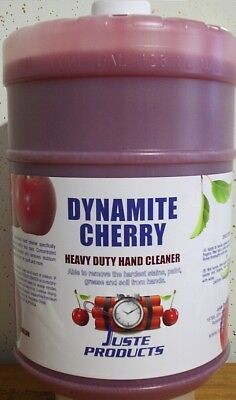 Cherry Hand Cleaner, DYNAMITE CHERRY GALLON + PUMP, ONLY $32.89, FREE SHIPPING!