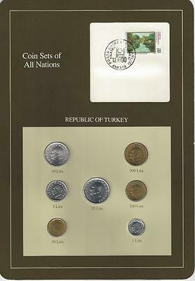 Coin Sets of All Nations - Turkey