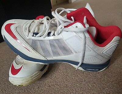 nike lunar cricket spikes size 8