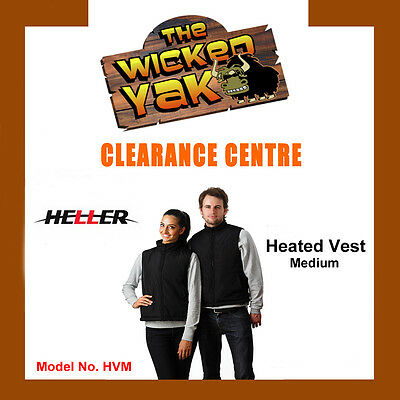Heller Unisex Rechargeable Electric Heated Vest Size M FREE SHIPPING BRAND NEW
