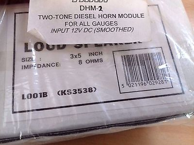 DHM-2 two tone diesel horn module for all GAUGES Model Trains Railway NEW trax