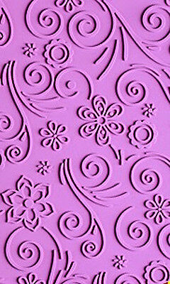 NY Cake Impression Mat - Silicone - Spring Bloom