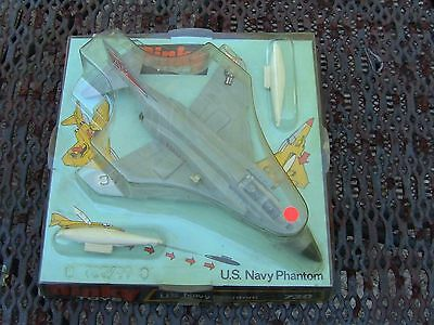 Dinky Toys #730 US Navy Phantom Mint in OB with Missiles