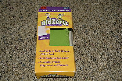 Kidzerts Youth Moldable Insoles - Size 4-5 - 3/4 Length