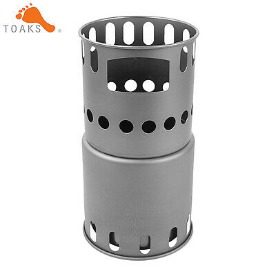 TOAKS STV-12Titanium Backpacking Wood Stove Camping Stove Backpacking Stove