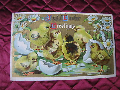 3 Vintage Post Cards/ 2 Easter/1 Birthday 1911/1915/?/1Circulated/2 Used