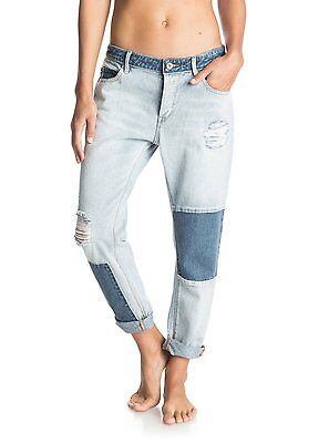 Roxy™ Rider Patch - Boyfriend Fit Jeans - Jeans - Frauen - 30 - Blau