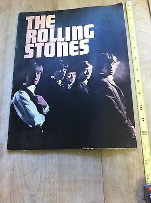 'The Rolling Stones' Introduction and Biographies Book - Probably 1964 - EXC