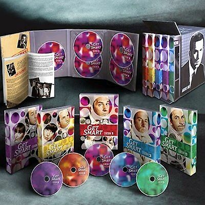 Get Smart:Complete Series Gift Set. 25 DVD Boxset. New In Shrink!