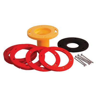 Set-Rite® Toilet Flange Spacer Extender Kit,PartNo C89500 JonesStephens