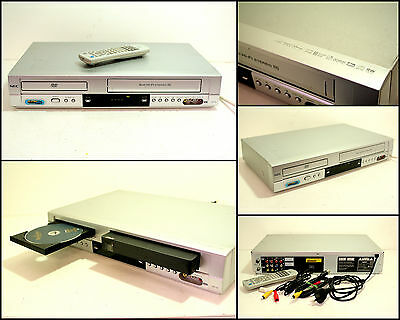 NEC NDT-43 DVD CD VHS VCR Tape Recorder Combo Player