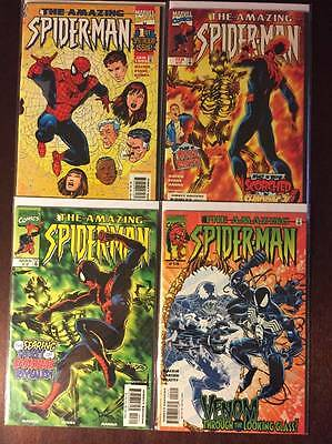 Amazing Spider-Man Vol. 2 Comic Book Lot,   4 Issues, High Grade, #'s 1,2,3 & 19